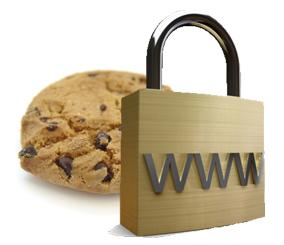 Cookie with Padlock
