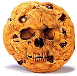 Scary Skull Cookie